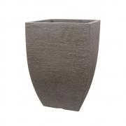 Prato P/ Vaso Japi Quadrado 38cm ***Cimento