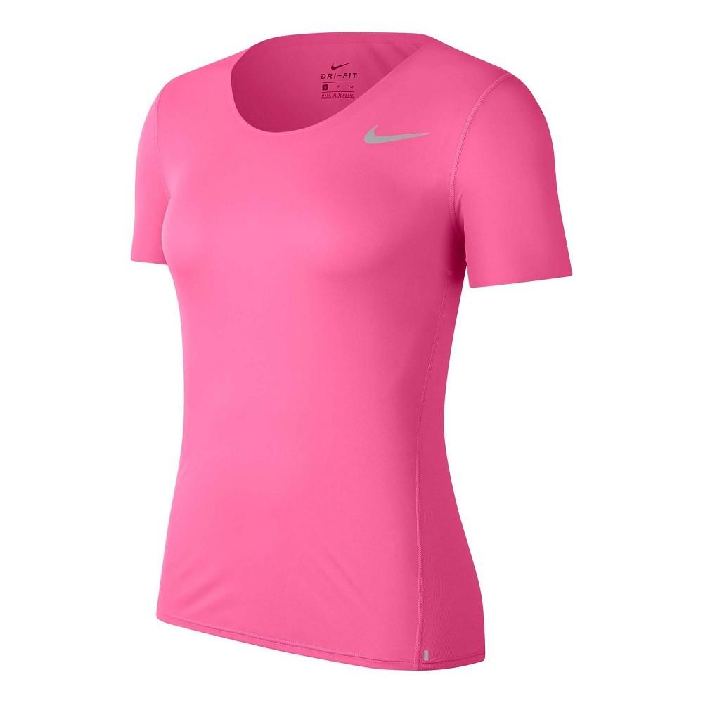 Camiseta Nike City Sleek Feminino Rosa