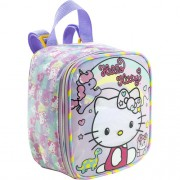 Lancheira  Hello Kitty Rainbow - 8814 - Artigo Escolar