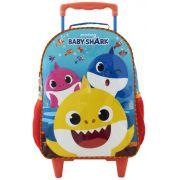 Mala com Rodas 14 Baby Shark R1 - 9591 - Artigo Escolar
