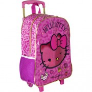 Mala com Rodas 16 Hello Kitty Glam - 8820 - Artigo Escolar