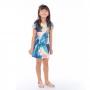 Vestido Infantil Vanilla Arara Azul