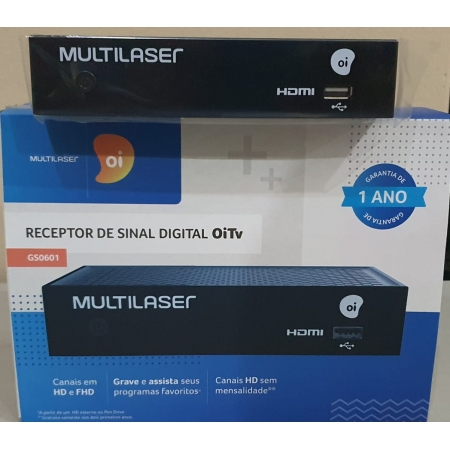 CONVERSOR DSI74 - MULTILASER OI TV GS0601 NOVO MULTILASER