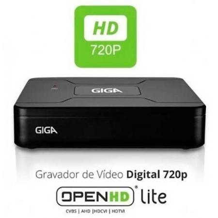 DVR GIGA SECURITY OPEN HD LITE 720P 4 CANAIS - GS0082