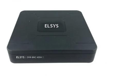 GRAVADOR ELSYS 4 CANAIS HD 720P 5X1 - DVR-BNC-4004
