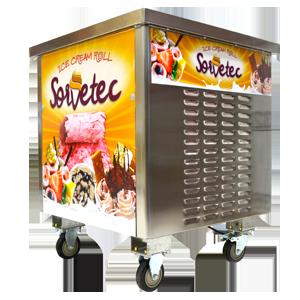Máquina de Sorvete na Chapa - Multivisi / Sorvetec