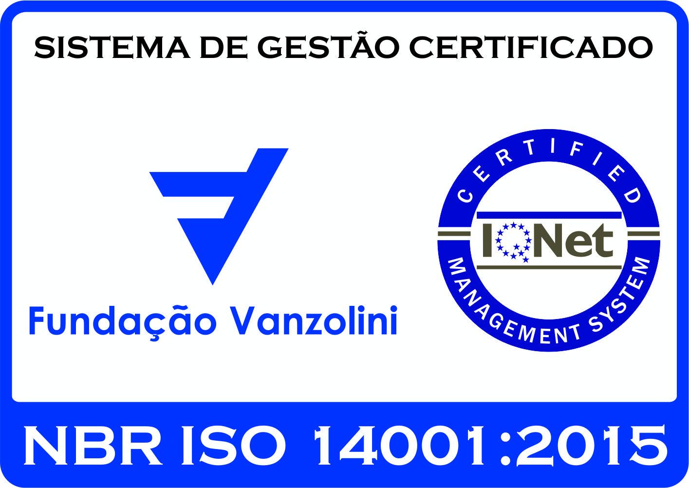 Certificação ISO-14001