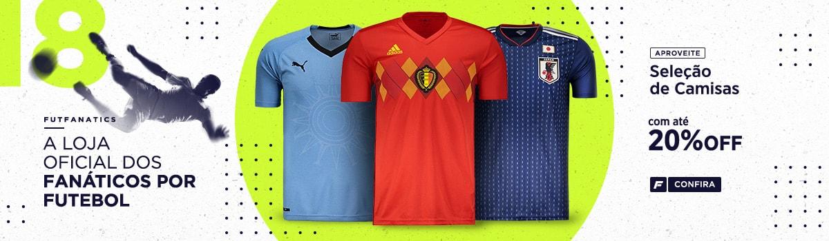 Camisas de Futebol das Principais Seleções Mundiais - FutFanatics bd237541ff19c
