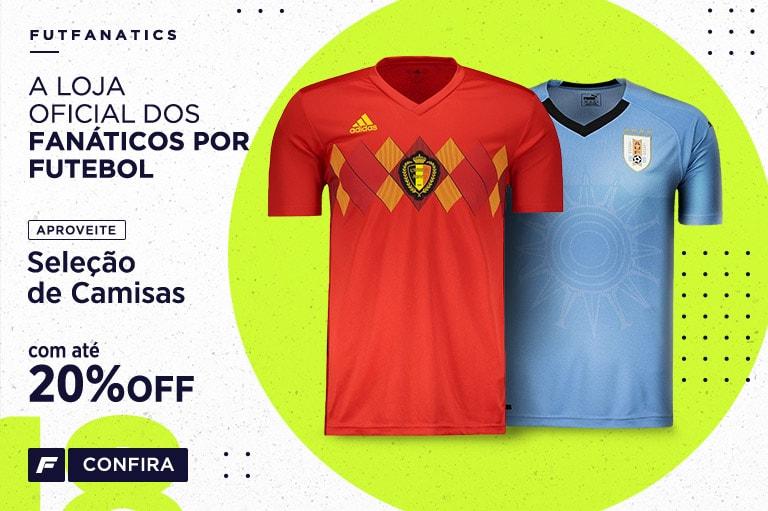 0194b597d8 Camisas de Futebol das Principais Seleções Mundiais - FutFanatics