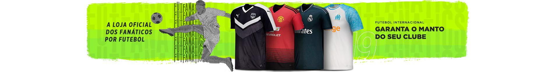 8f53ce131f Camisas Oficiais de Futebol dos Principais Clubes Internacionais ...