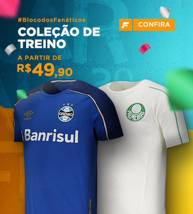 Camisas de Futebol dos Principais Clubes Brasileiros - FutFanatics 17f4bf19929c1