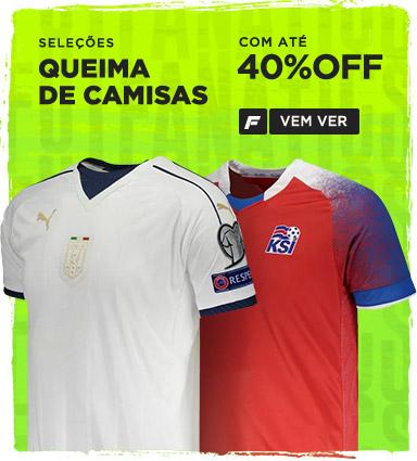 Camisas Oficiais de Futebol dos Principais Clubes Internacionais ... ae254dce550