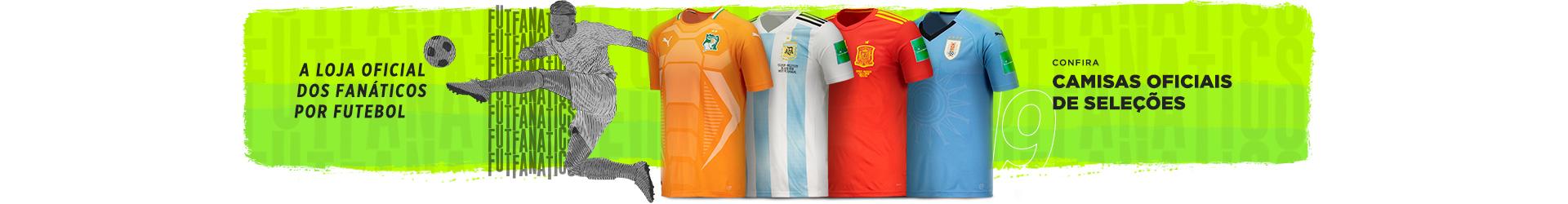 e51565ce53842 Camisas Oficiais de Futebol das Principais Seleções Sul-americanas ...