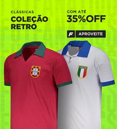 0f50baf32 Camisas Oficiais de Futebol das Principais Seleções do Mundo ...