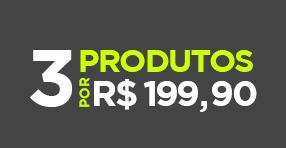 Campanha compre 3 por R$199,90
