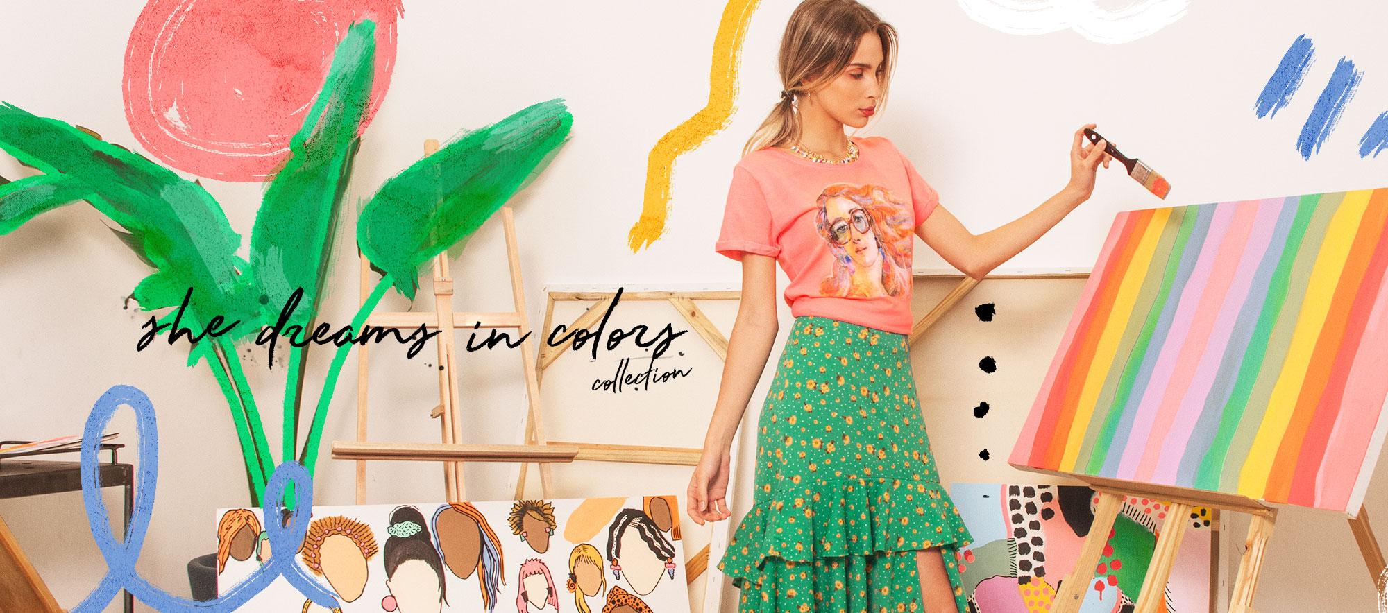Nova Coleção She Dreams in Colors