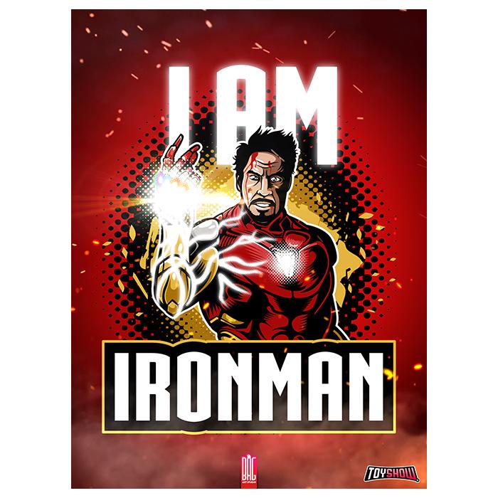 Poster Exclusivo Iron Man