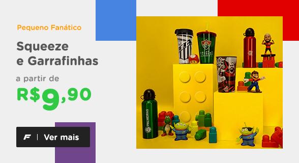 Pequeno Fanático   Squeeze e Garrafinhas a partir de R$ 9,90   Ver mais