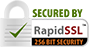 Secured by Rapid SSL