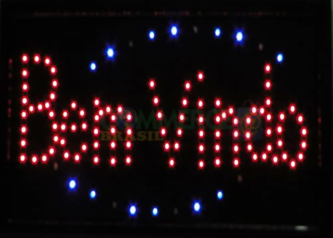 Letreiro_luminoso_Bem_Vindo