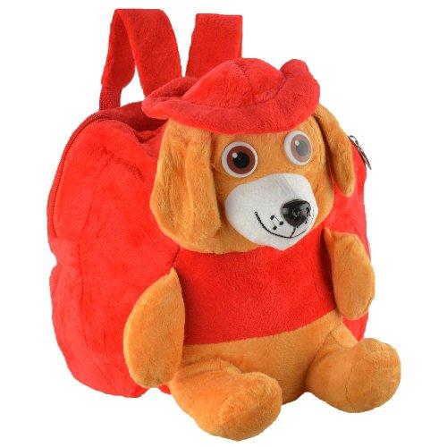 Mochila_infantil_Pelucia_3D_cachorro_chapéu_vermelho_CBRN07431_01