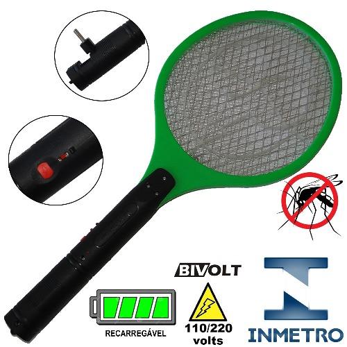 Raquete_elétrica_mata_mosquito_kit_3_peças_Verde_CBRN05598