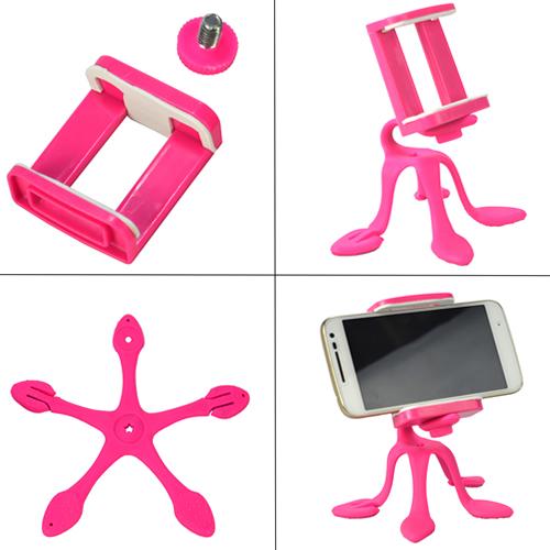 Suporte_Para_Celular_Flexível_Tripod_Pink_CBRN06380_02_500