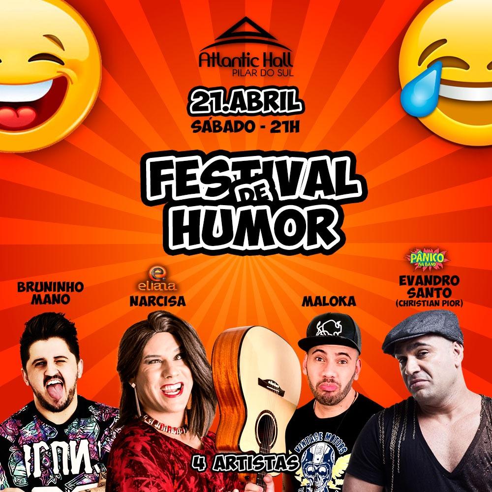687e4520c Compre aqui seu ingresso para Festival de Humor