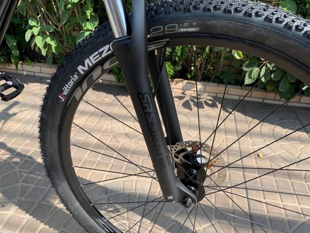 Suspensao da Bicicleta Aro 29 Soul SL 129 21 Velocidades Freio Hidraulico