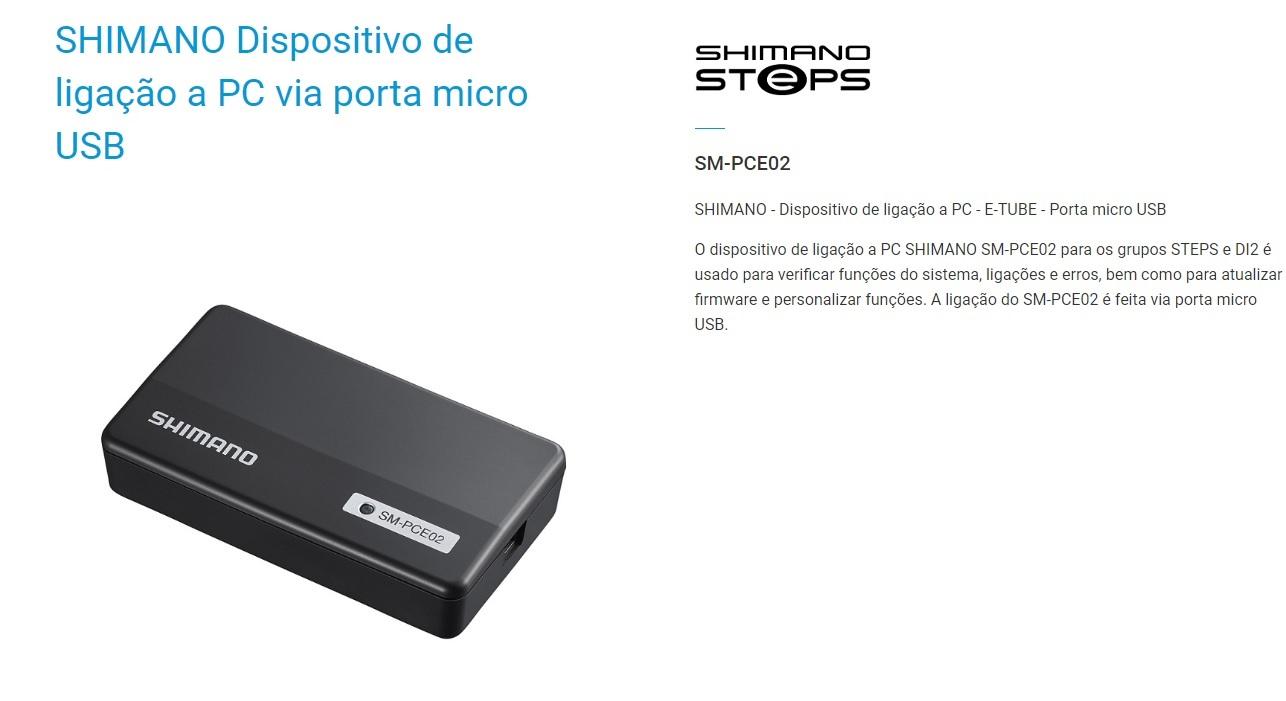 Manutenção em Shimano Di2 Eletronico - SM-PCE02