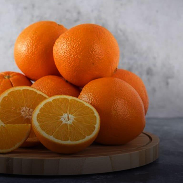 Imagem de várias laranjas