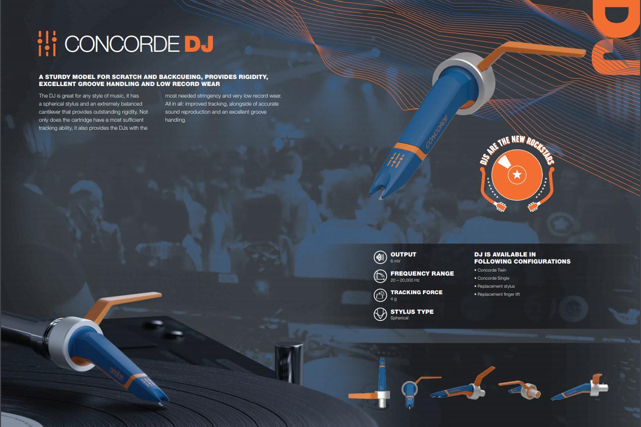Ortofon Concorde DJ MK2