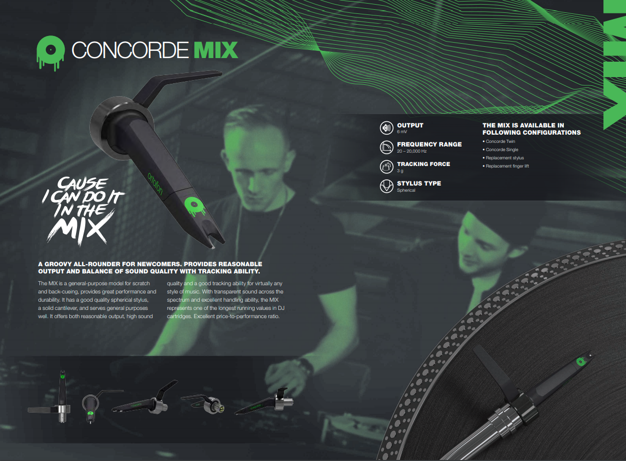 Ortofon Concorde Mix MK2