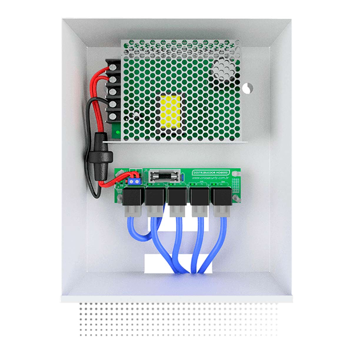 Bandeja-Fixa-para-Rack-5U-Onix-Security-1U-x-250mm
