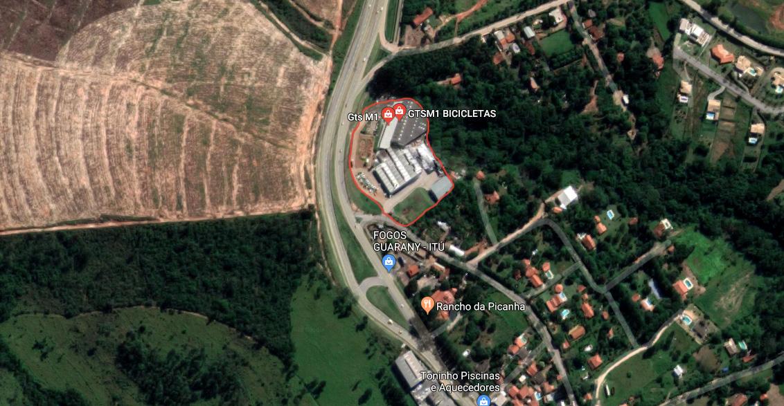 Localização fábrica GTSM1