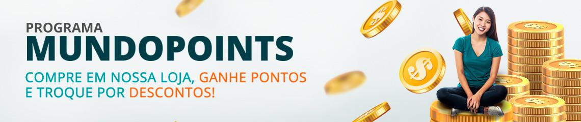 Programa de Pontos Mundopoints, uma parte do seu dinheiro de volta em descontos na próxima compra, Aproveite :D