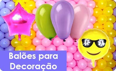 Balões Decorativos para Aniversário