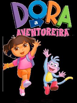 Dora Aventureira e macaco Botas