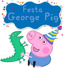 George Pig e Dinossauro
