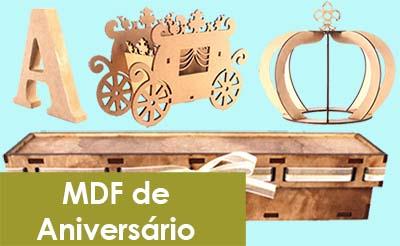 MDF para Aniversário