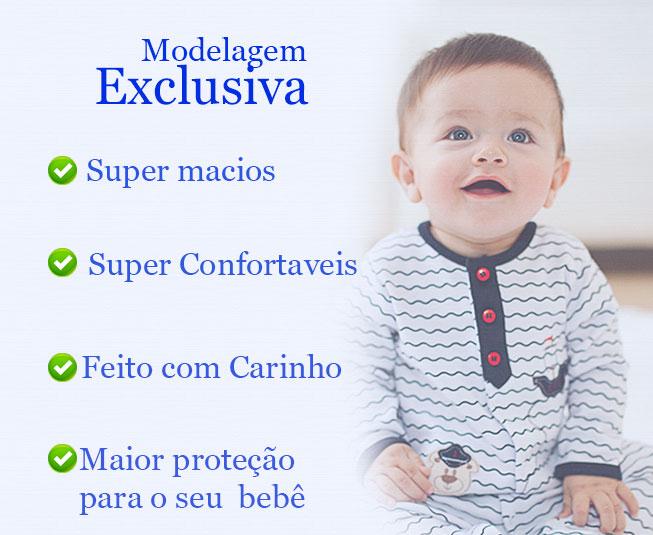 Macacão Bebe Menina Regata Curto Ursinha Vigui