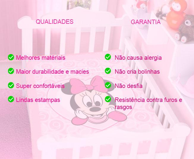 Cobertor de Bebe Jolitex Raschel Rosa Ursinho No Balão