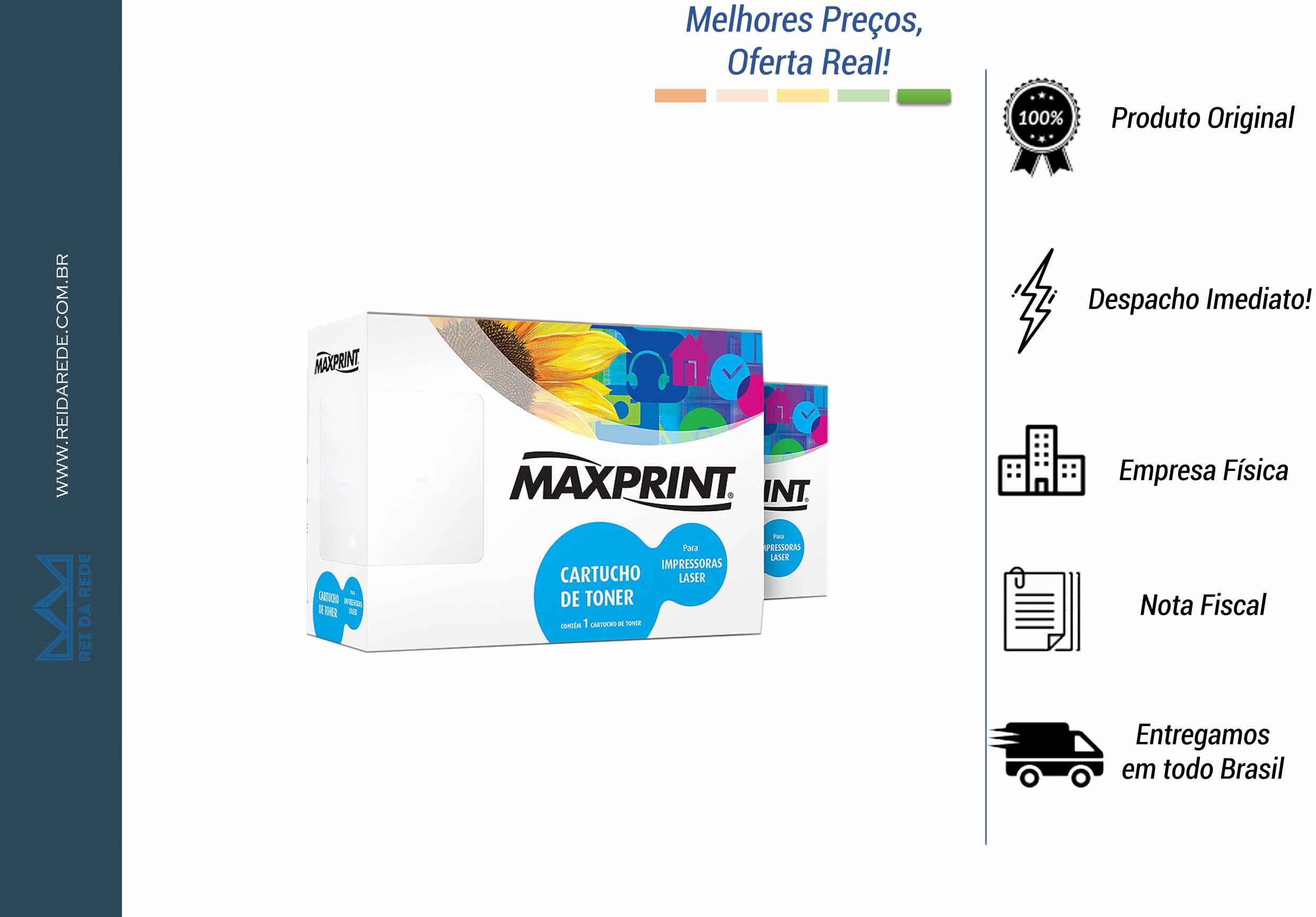 TONER HP LASERJET PRO 400 AMARELO CE412A (M451 NW - MFP M475DN) MAXPRINT 561411-3