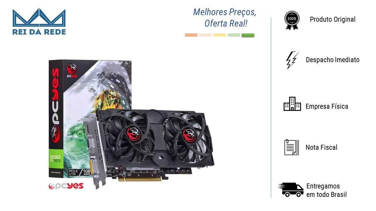 PLACA DE VIDEO GEFORCE NVIDIA GTX 550 TI 1GB GDDR5 192 BITS DUAL-FAN - N55TX1GD5192DF