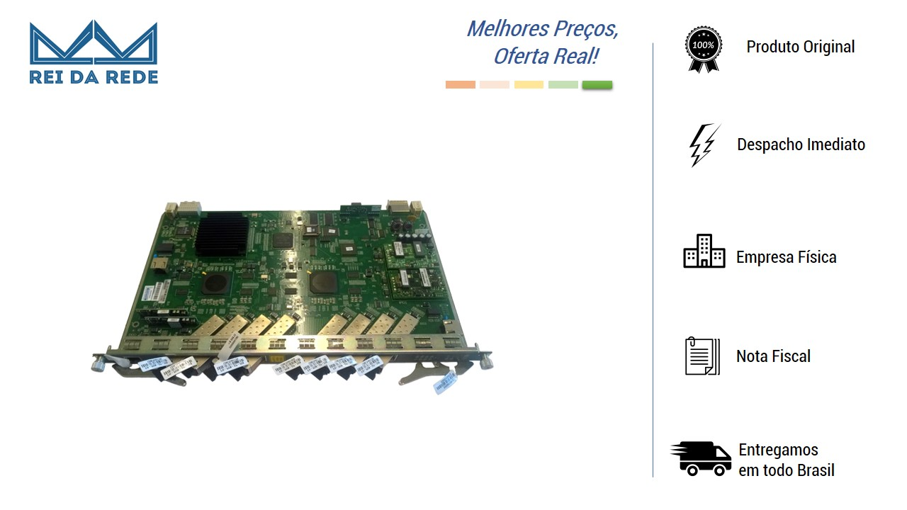 Placa GC8B (C+) FIBERHOME para OLT C/ 8 portas Gpon C/ 8 Modulos