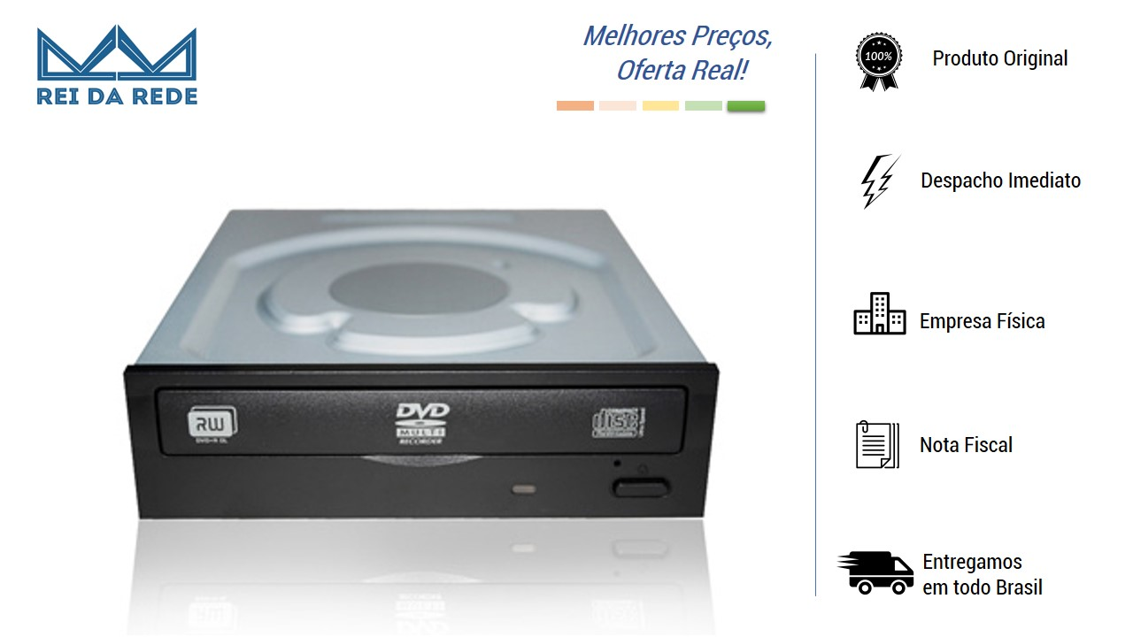 Gravador de DVD-RW Sata BL-0224-K FASTER
