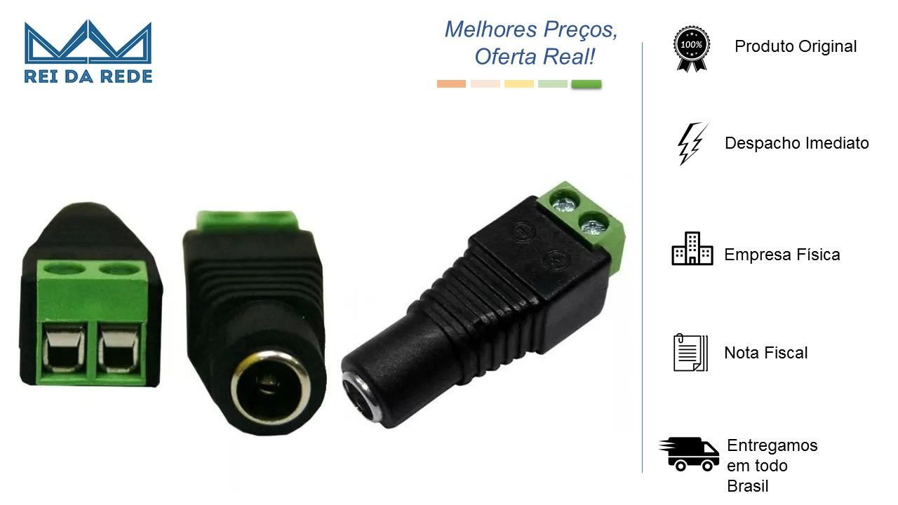 Conector P4 Femea AD CONNECT AD-10151