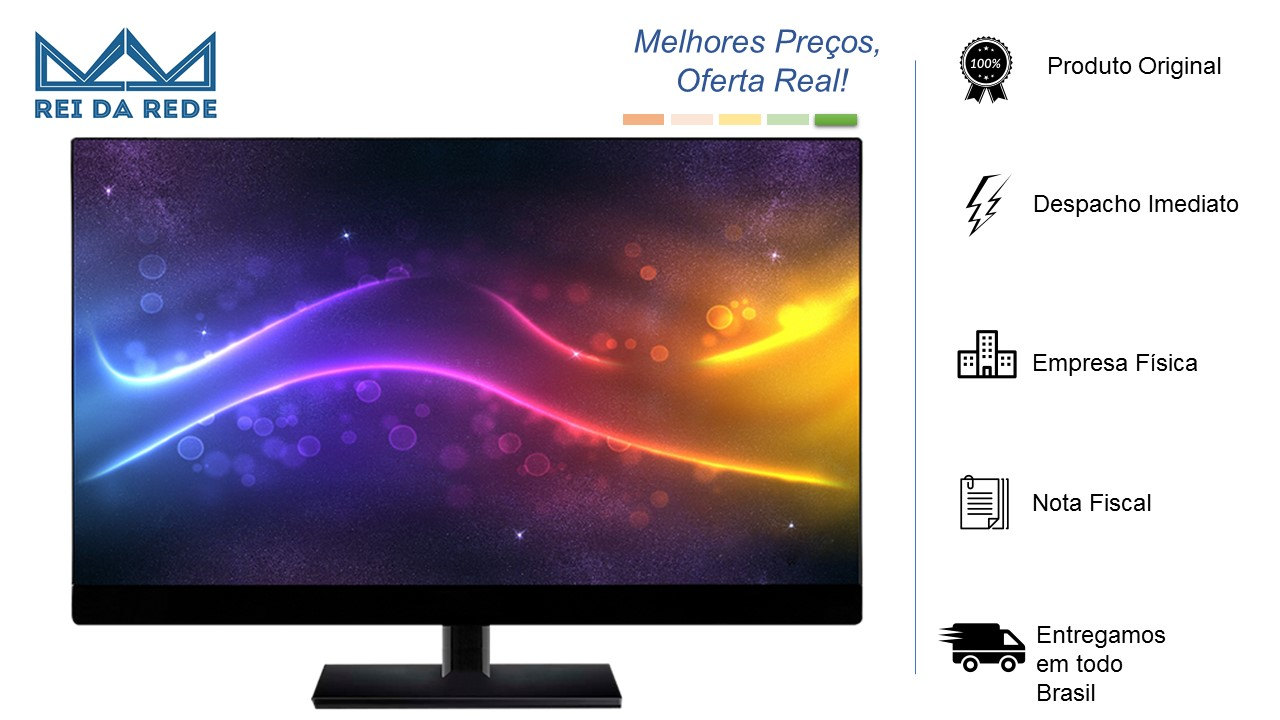Monitor 23.8 HDMI 24BP238G02 FHD Preto Widescreen Box Full HD