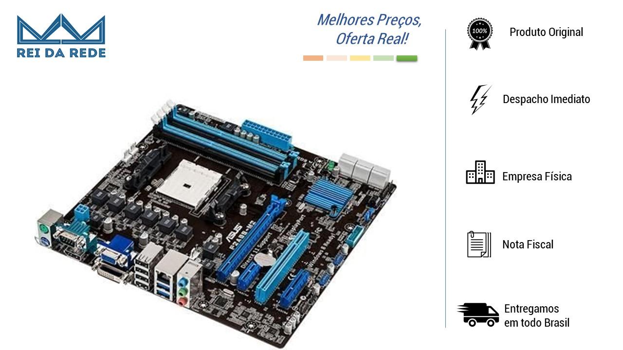 Placa Mãe ASUS AMD FM2 F2A85-M2 OEM