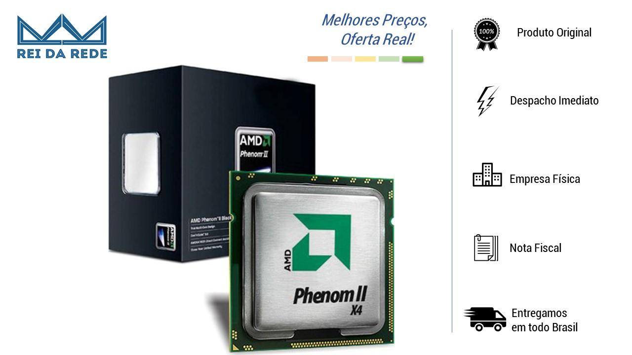 O AMD AM3 PHENOM II X4 955 possui arquitetura quad-core e triple-core projetados para melhor comunicação entre os núcleos, otimizando a performance.